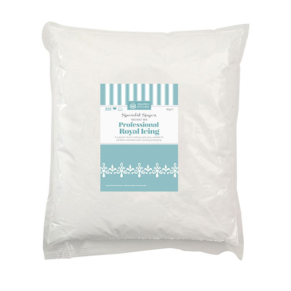 Royal Icing Profesional, alb, 2kg, Squires Kitchen