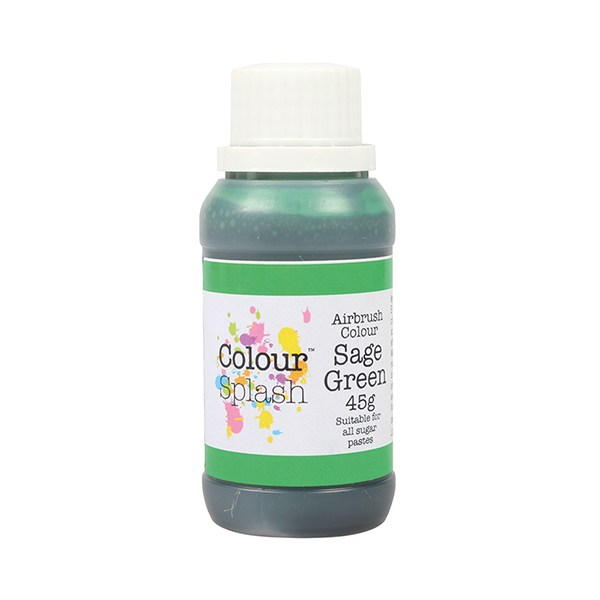 Colorant aerograf, verde Salvie, Colour Splash