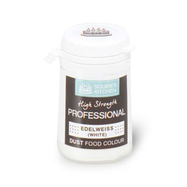 Colorant pudra mata, alb floare de colt, Squires Kitchen