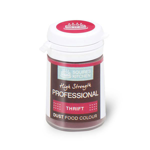 Colorant profesional pudra mata, rosu Thrift, Squires Kitchen