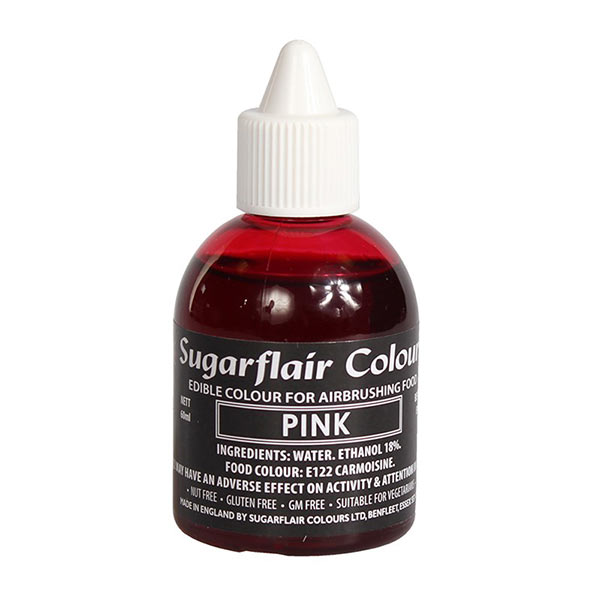 Colorant aerograf, roz, Sugarflair