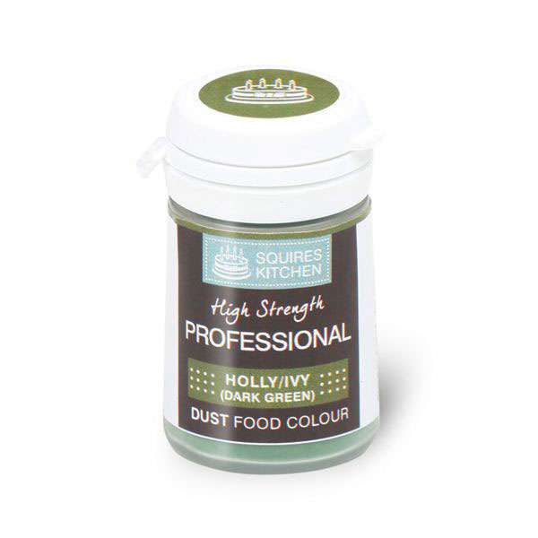 Colorant profesional pudra mata, verde inchis, stejar, Squires Kitchen