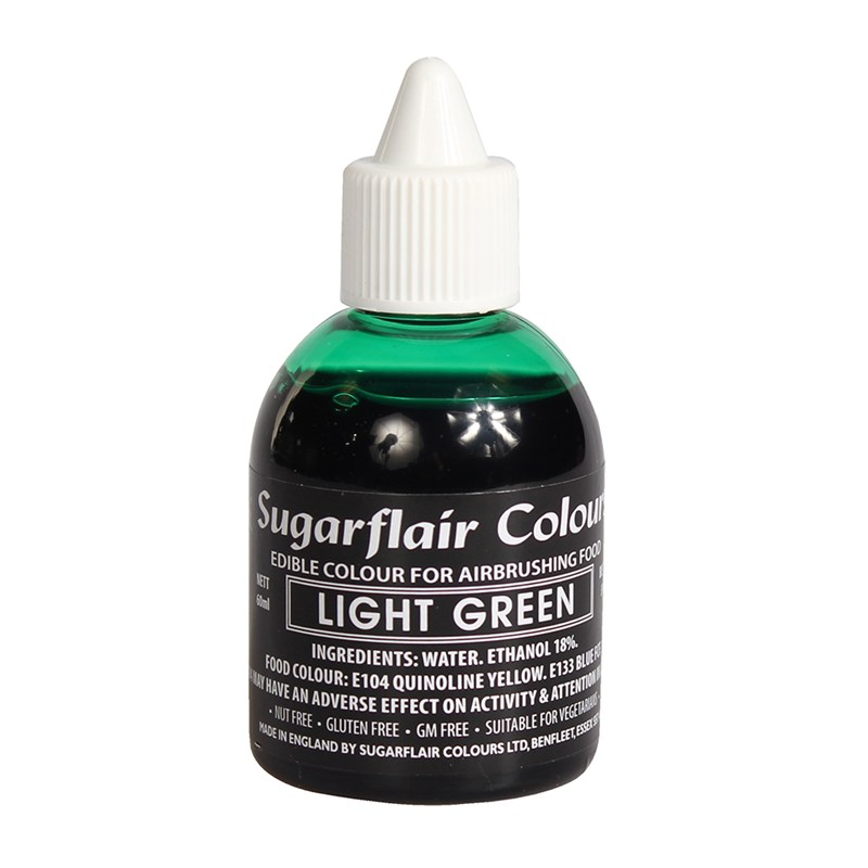 Colorant aerograf verde deschis