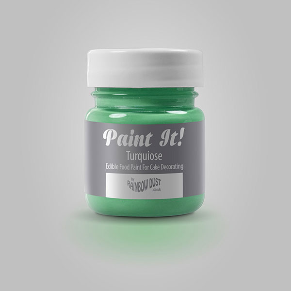 Colorant pictura, turcoaz, Paint It!, Rainbow Dust