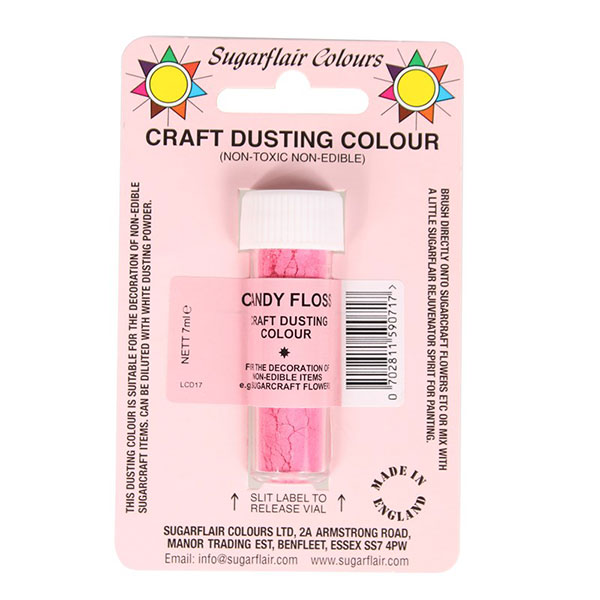 Colorant pulbere, necomestibil - roz candy floss