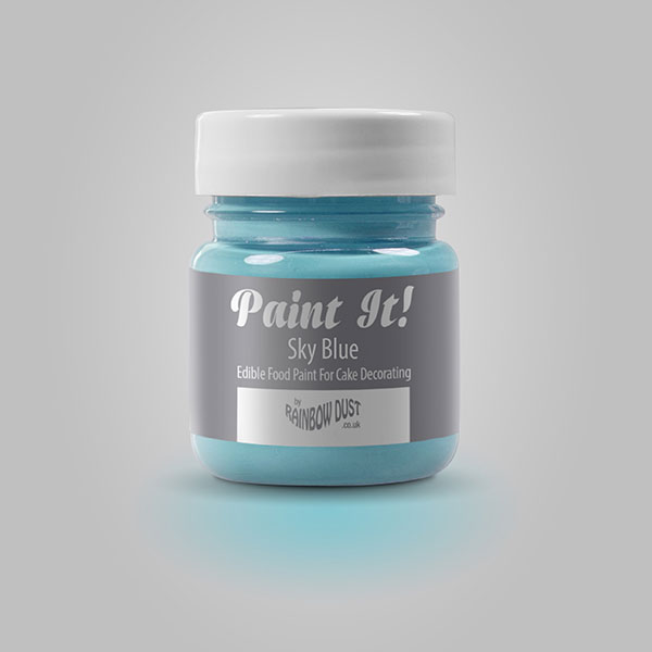 Colorant pictura, albastru cer, Paint It!, Rainbow Dust