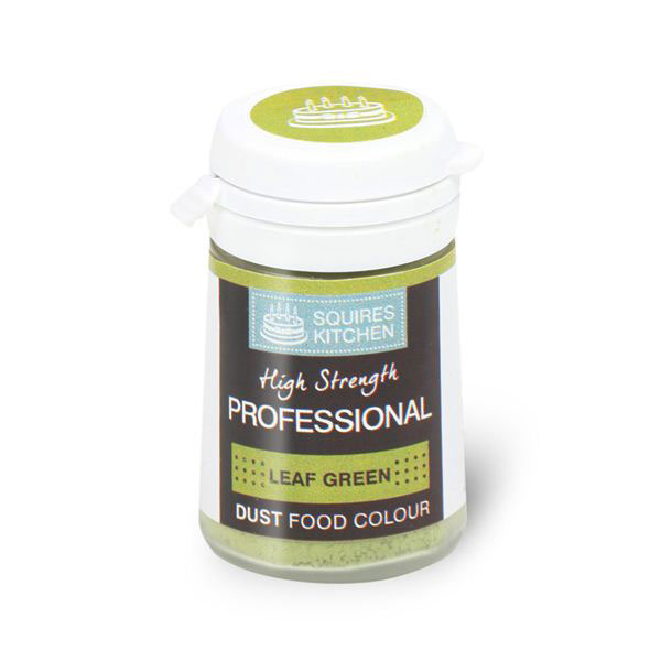 Colorant profesional pudra mata, verde frunza, Squires Kitchen